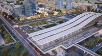 Как будет выглядеть район нового вокзала Астаны