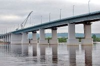 Через реку Урал перекинут ещё один мост